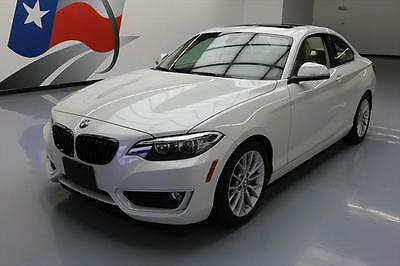 2014 BMW 2-Series Base Coupe 2-Door 2014 BMW 228I COUPE TURBO AUTO BLUETOOTH SUNROOF 21K MI #256202 Texas Direct