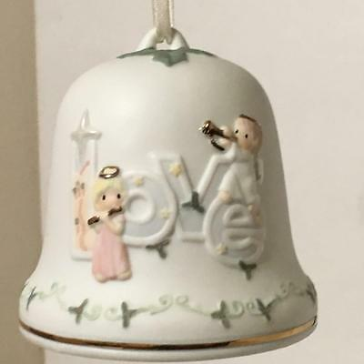 Precious Moments 101416 LOVE BELL Hand-Painted Bisque Porcelain, BNIB