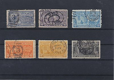 United States Special Delivery Used Stamps Ref: R6119