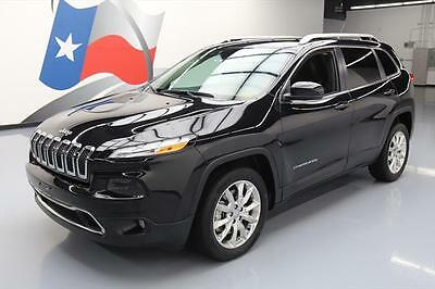 2014 Jeep Cherokee  2014 JEEP CHEROKEE LTD HTD SEATS BLUETOOTH REAR CAM 24K #200285 Texas Direct
