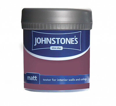 Johnstone's Matt Tester 75ml Deep Amethyst