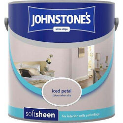 Johnstone's Soft Sheen 2.5L Iced Petal