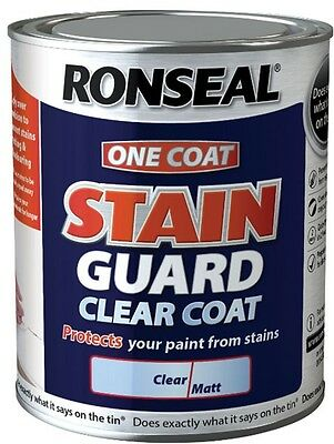 Ronseal One Coat Stain Guard Clear Coat 750ml