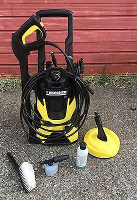 Pressure Washer Karcher K5 Car Home Package Cleaning Patios Decking Full Kit Picclick Uk