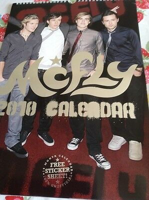Mcfly Calendar 2010 Vintage Unofficial 16 Months