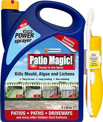 Patio Magic Patio Cleaner Ready To Use Spray 5L