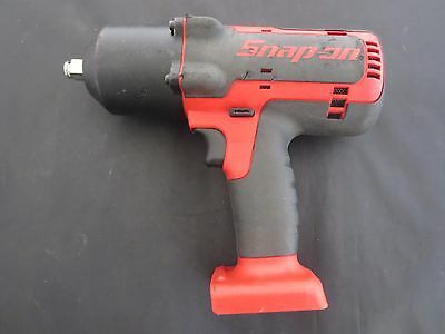 "Snap On Tools 18 Volt 1/2"" Drive Cordless Impact Wrench - Lithium Ion - CT7850"