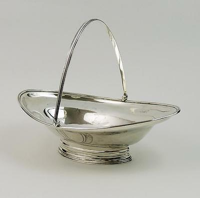 GEORGE III SILVER Swing Handle BON BON DISH London 1796