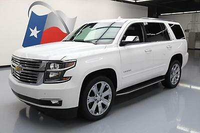 2016 Chevrolet Tahoe LTZ Sport Utility 4-Door 2016 CHEVY TAHOE LTZ 4X4 7-PASS VENT SEATS NAV 22'S 41K #246228 Texas Direct