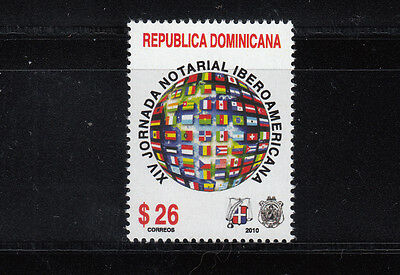 Dominican Republic 2010 Notaries Sc 1481  mint never hinged