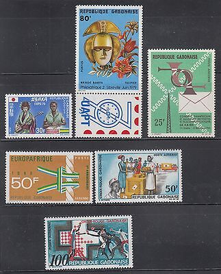 Gabon. mint never hinged collection