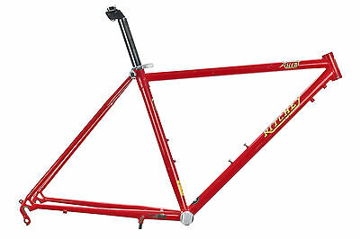 """Vintage Ritchey Ascent Mountain Bike Frame 17in MEDIUM 26"""" Steel Cantilever"""