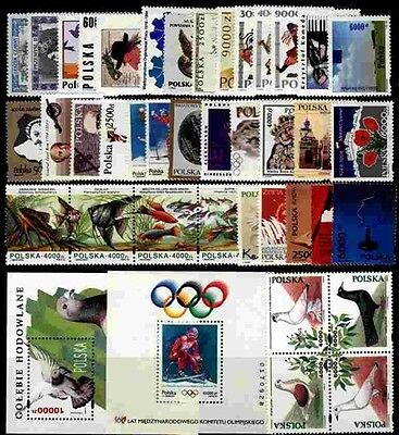 Poland MNH 1994 Complete Year set