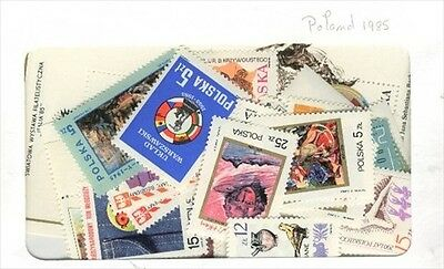 Poland 1985 MNH Year set