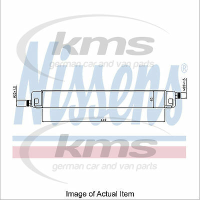 New Engine Oil Cooler NISSENS 90578 Top Quality