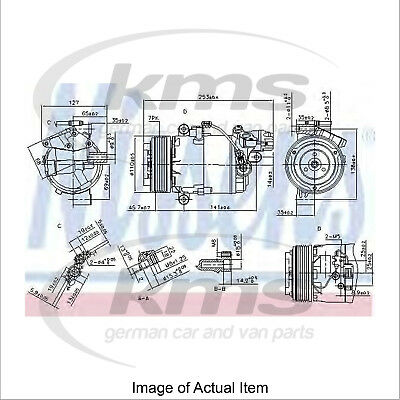 New Air Conditioning Compressor NISSENS 890071 Top Quality