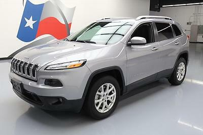 2016 Jeep Cherokee  2016 JEEP CHEROKEE LATITUDE 4X4 BLUETOOTH REAR CAM 32K #213498 Texas Direct Auto