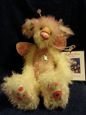 "OOAK Dusty Attic Bears Called ""Kisses"" Mohair Aprox 20"""