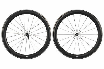 Zipp 404 Toroidal Road Bike Wheel Set 700c Shimano 11 Speed Carbon Clincher