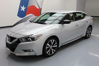 2016 Nissan Maxima  2016 NISSAN MAXIMA 3.5 S BLUETOOTH NAV REAR CAM 27K MI #440867 Texas Direct Auto
