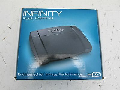 Infinity IN-USB-2 USB Foot Control Pedal for Transcription Dictation