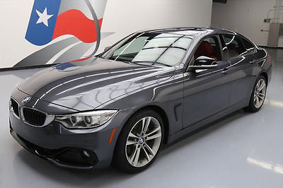 2015 BMW 4-Series Base Hatchback 4-Door 2015 BMW 428I GRAN COUPE SPORT LINE SUNROOF NAV 37K MI #410328 Texas Direct Auto