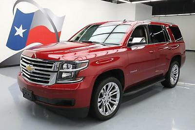 2015 Chevrolet Tahoe LT Sport Utility 4-Door 2015 CHEVY TAHOE LT 7PASS HTD LEATHER REAR CAM 22'S 59K #218018 Texas Direct