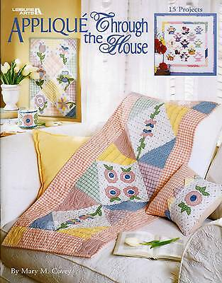 Quilting Patterns Applique Through The House Pattern Book Wall Quilts Bellpulls