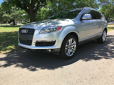 2008 Audi Q7 4.2 V8 Premium, 1 Owner, Technology Package Reverse Camera, Adaptive Air Suspension ,Serviced at Audi Dealership,Navigation