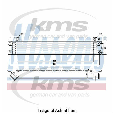 New Engine Oil Cooler NISSENS 90615 Top Quality