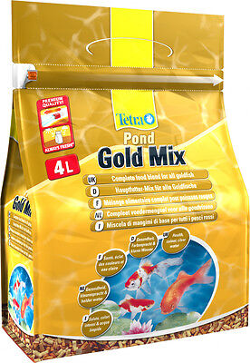 Tetra Pond Goldfish Mix 4L