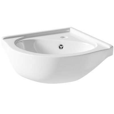 SP Cloakroom Collection Corner Vanity Unit Basin 400mm W: 570mm D: 410mm