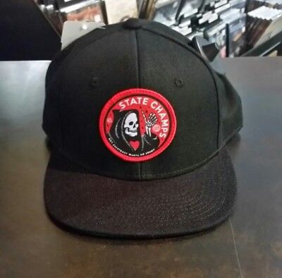 State Champs - Premium Cap (Death Is Chill Snapback)