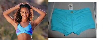 NEW CALIFORNIA KISSES 2PC Split Decision TOP & DANCE SHORTS J(Med) Sz 4-6~~$88