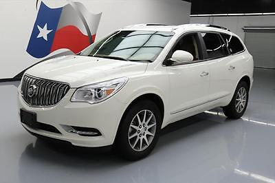 2014 Buick Enclave Leather Sport Utility 4-Door 2014 BUICK ENCLAVE AWD HTD LEATHER NAV 7-PASS 19'S 24K #244868 Texas Direct Auto