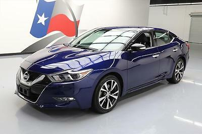 2017 Nissan Maxima  2017 NISSAN MAXIMA 3.5 SV NAV REAR CAM HTD LEATHER 25K #376427 Texas Direct Auto
