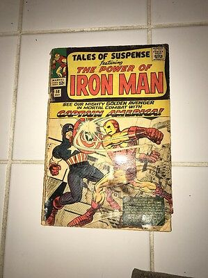 Tales Of Suspense #58 First Captain America In This Title, 2nd Kraven HOT!!
