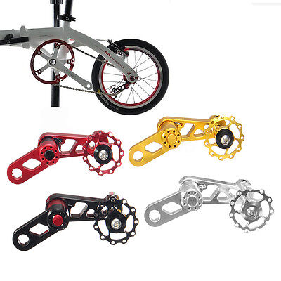 Folding MTB Bike Bicycle Single Speed Converter Chain Tensioner CNC Aluminium
