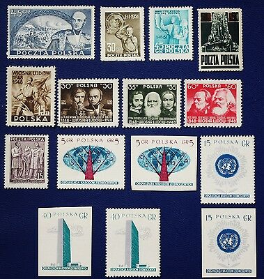 POLAND - 1945-1957 MNH Collection - MNH