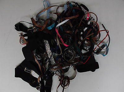 WHOLESALE JOBLOT of Random Belts as Photographed. Some new but mainly used.