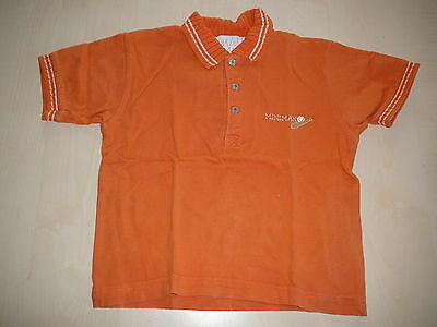 Miniman tolles T-Shirt / Poloshirt Gr. 86 orange !!