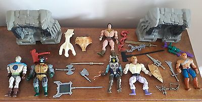 original 1980s he man masters of the universe figures