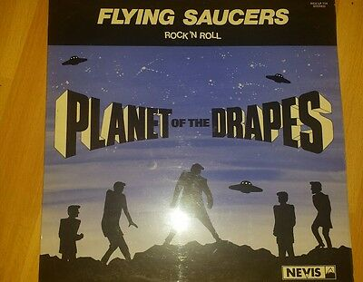 Flying saucers -Planet of the Drapes .Rare vinyl LP