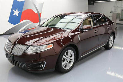 2010 Lincoln MKS Base Sedan 4-Door 2010 LINCOLN MKS CLIMATE LEATHER ALLOY WHEELS 61K MILES #608597 Texas Direct