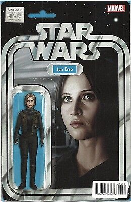 Star Wars Rogue One #1 Action Figure Variant Nm First Print Bagged And Boarded