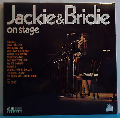 JACKIE AND BRIDIE On Stage - Original UK LP - FOLK McDonald O'Donnell