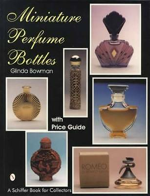 Vintage Miniature Glass Perfume Bottles Collector Price Guide - Famous Brands