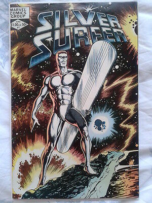 Silver Surfer 1 from Vol. 2 (1982) John Byrne art, Origin told, Mephisto, FF App