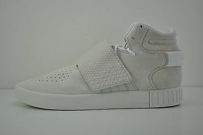 Mens Adidas Tubular Invader Strap Casual Shoes Sneakers Size 12 White BB5038 5fb79abba