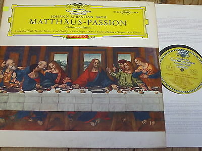 136 233 Bach St. Matthew Passion (excerpts) / Richter etc. TULIP